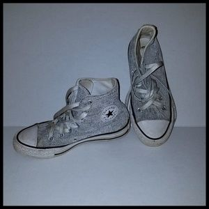 *Temporary Low Price* Converse All Stars Silver 5